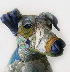 Textile Sculptures by Bryony Jennings: