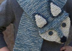 #breien, gratis patroon, Nederlands, kinder sjaal, vos, #breipatroon