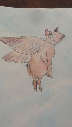 flying pig  Visit us on Facebook at Flying Pig Metal Art!