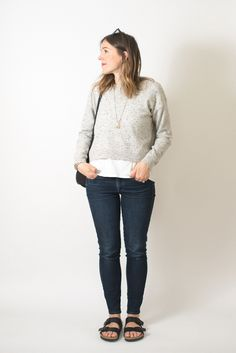 Everlane Cropped Cashmere is possibly one of the best things I've ever added to my closet.