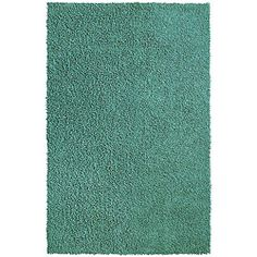 @Overstock - Luxuriously soft, this chenille shag rug is handmade with hundreds of plush, twisted 'fingers' of sumptuous pile. This hand-loomed rug features a solid blue color and invisible nonskid backing.http://www.overstock.com/Home-Garden/Hand-loomed-Aqua-Chenille-Shag-Rug-4-x-6/5473510/product.html?CID=214117 $65.44