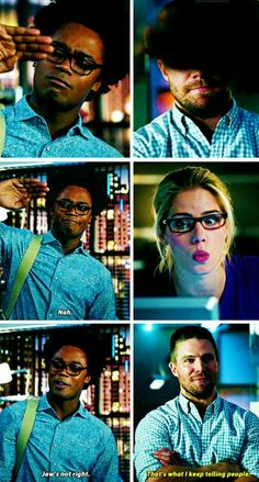 Curits & Oliver #MrTerrific from #Arrow 2015 New York Comic-Con Sizzle Reel - Warner Bros.