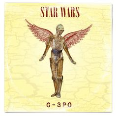 Star Wars (C3PO) / Nirvana In Utero  Album Cover Mash Up Parody by Whythelongplayface   #nirvana #inutero #kurtcobain #foofighters #davegrohl #starwars #thelastjedi #lastjedi #jedi #tshirt #mashup #photoshop #parody #albumcover #album #cover #lp #record #vinyl #scifi #nerd #music #movie #geek #lukeskywalker #hansolo #princessleia #r2d2 #c3po #darthvader #chewbacca #harrisonford #carriefisher #markhamill #daisyridley #johnboyega #whythelongplayface