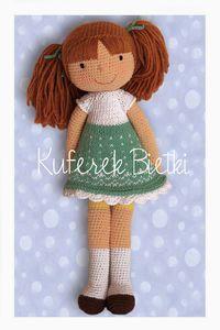 Kuferek Bietki: Andrika lalka na szydełku/Andrika Gehäkelte Puppe/ Andrika,  Crochet Doll