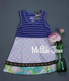Matilda Jane - Hammond Bay ~ Lovely Bird Tank Dress – $46-48 ~