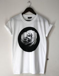 Image of Rose Flower Graphic Tee