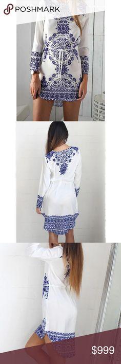 SALE  Long Sleeves Summer Dress - S   Long Dress Summer Dress - S Dresses