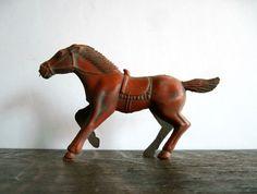Vintage Plastic Toy Horse