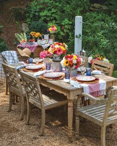 Southern Ladies, Outdoor Furniture Sets, Outdoor Decor, Farmers Market, Tablescapes, Summertime, Outdoor Living, Backyard, Table Decorations