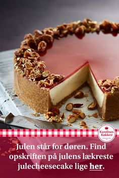 Sweets Cake, Cupcake Cakes, Fresh Fruit Cake, Cake Recipes, Dessert Recipes, Danish Food, Christmas Sweets, Pastry Cake, Eat Dessert First