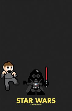 8-Bit Movie Posters | PrintBench