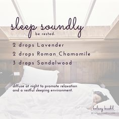 The Simple Essential Oil Strategy that Helped me to Sleep Better -- Essential oils for sleep -- Essential oils for relaxation -- Lavender, Roman Chamomile, Sandalwood -- Essential oil diffuser blends and recipes
