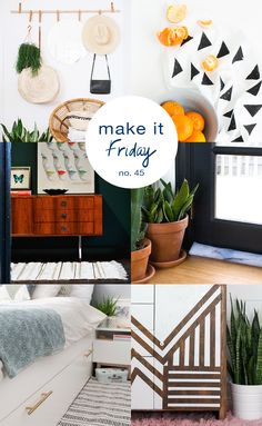 A weekly gathering of the best DIY ideas to inspire your weekend making.