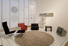 Some of Dieter Rams's designs on display at a recent exhibition at Design Museum London.