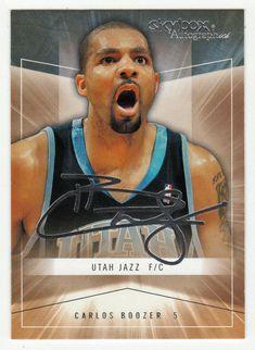 Carlos Boozer # 19 - 2004-05 SkyBox Autographics Basketball
