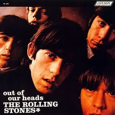Album Cover, sleeve, out of our heads, THe Rolling Stones, Record, 1965