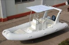 Fiberglass Rib 580C - Marine Sales Discounts  1.2mm fabric 120l alu oil tank console as picture showed individual seat with ss304 handrail, like the picture showed ss304 roll bar or FPR roll bar with light the stroke plane empennage、boat cover、repairing kits Max HP 80