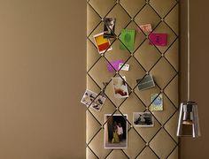 Wandgestaltung mit Verkleidungen: DIY-Projekt: Pinnwand mit Samtstoff - Bild 9 - [SCHÖNER WOHNEN]