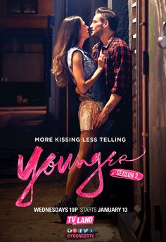 See Us Weekly's exclusive first photo from Younger Season 2, which features Liza (Sutton Foster) and Josh (Nico Tortorella) locked in an embrace!