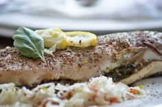 Köstliche gefüllte #Forelle bringt gesunden Genuß auf den Teller. Das Rezept zum Genießen.