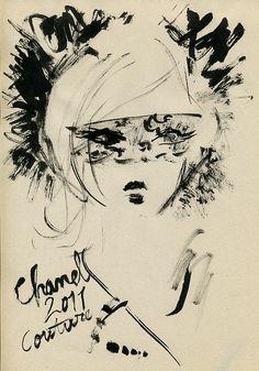 """Miyuki Ohashi - """"Chanel Fall 2011 couture"""""""