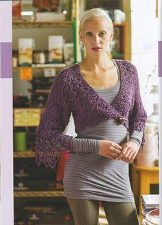 72a 【转载】Colorful Crochet Lace 22 :Chic Garments & Accessories - 冬日暖阳的日志 - 网易博客