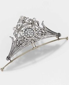 a close up of the tiara in the previous pin