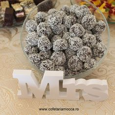 Coconut chocolate balls for candy bar table, Coconut chocolate balls for candy bar table, Coconut Chocolate, Mocca, Balls, Goodies, Coconut Candy, Breakfast, Sweet, Food, Sweet Like Candy