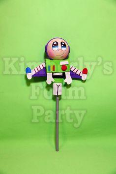 Buzz Lightyear Toy Story foam Pencil Topper por kimberlysfoamparty