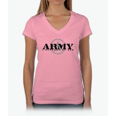 Army - I Support My Son Womens V-Neck T-Shirt