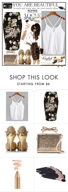 """""""White Top"""" by lejlayavuz ❤ liked on Polyvore featuring River Island, RED Valentino and Christian Dior"""