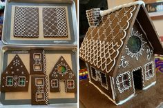 Gingerbread house, royal icing, Davids Cookies, Royal Icing, Gingerbread, Holiday Decor, House, Home Decor, Decoration Home, Home, Room Decor