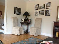 Audubon prints - thank u to Linda for chairs