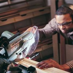How to Use a Power Miter Saw  Cut trim and moldings so they fit like a glove