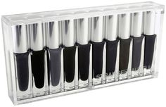 I'm sorry... 10 shades of black nail polish inspired by dickinson and brothers grimm? Things I want for my birthday.