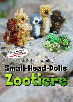 Small-head dolls - Zoo animals