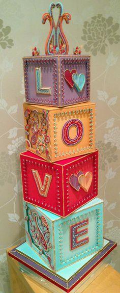 Royal Iced Asian Wedding Cake - by MelysCakeDesign @ CakesDecor.com - cake decorating website