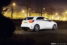 2013 Mercedes Benz A Class 200 CDi AMG in Cirrus White Night Shoot