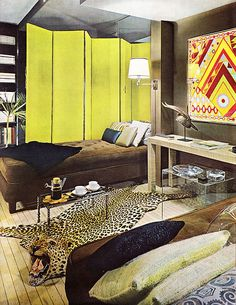 Partitions and Divisions, House and Garden's Complete Guide to Interior Decoration 1970s