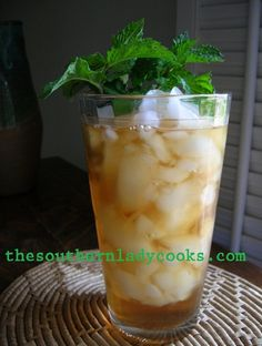When life hands you lemons... squeeze them into some sweet iced tea and thank God you were born a southern girl!Southerners love iced tea and drink it by the gallon!  We even like it in a Mason jar...