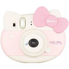 "Fujifilm Instax Mini ""Hello Kitty"" Instant Camera INS MINI KIT CAMERA... ($89) ❤ liked on Polyvore featuring filler"