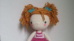 Pilola Lazos, muñeca ganchillo de 40 cm, Crochet, Muñecos, Miniaturas y muñecas, Amigurumis, Juguetes, Amigurumis