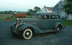 A Paige From Time: 1935 Graham-Paige Model 73 - http://barnfinds.com/a-paige-from-time-1935-graham-paige-model-73/