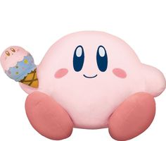 Japan - HMV and Lawson stores holding a KIRBY  ICE CREAM lottery   Banpresto and a number of stores are holding a special Kirby lottery! From July 4-15 the Japanese public can purchase tickets priced at 620 yen ($5.60). This will give them a chance of winning a Kirby plushie Waddle Dee plushie bag pouches dessert glasses hand towels charms or a cushion.  from GoNintendo Video Games