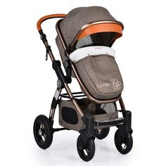 Cangaroo - Комбинирана детска количка Luxor