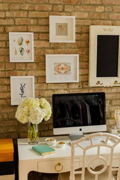 An impeccable gallery wall! // Style at Home: Kat Tanita Of With Love From Kat