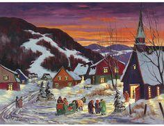 Claude Langevin - Artist, Fine Art Prices, Auction Records for Claude Langevin Winter Painting, Artist Biography, Claude, Canadian Artists, Winter Scenes, Art Plastique, Art Auction, Art And Architecture, Artwork