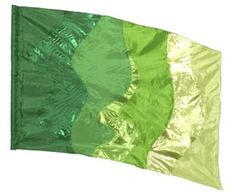 fi148lg Green Color Guard flag from The Band Hall
