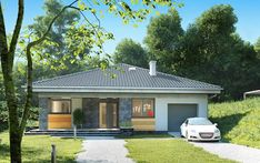 Elewacja AN BLANKA CE House Design, Outdoor Structures, Outdoor Decor, Home Decor, Homemade Home Decor, Architecture Illustrations, Decoration Home, Interior Decorating, Design Homes