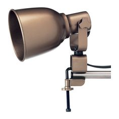 HEKTAR Wall/clamp spotlight IKEA You can place the lamp on a shelf or window sill to aim the light exactly where you need it. Ikea Wall Lights, Wall Lamps, Room Lights, Spot Mural, Clamp Lamp, Ikea Shopping, Ceiling Spotlights, Spots, Contemporary Lamps